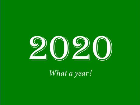 2020: What a year!