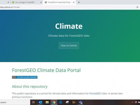 Climate Data Portal