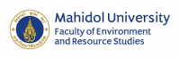 logo for Mahidol University (Faculty of Environment and Resource Studies)